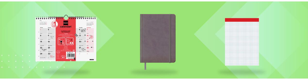 Blocs, cuadernos y agendas